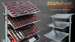 Foto de EGA Master presenta unas nuevas entanterías con ménsulas