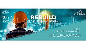 Foto de Saint-Gobain presentará en Rebuild las últimas tendencias en innovación y construcción sostenible