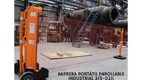 Foto de Calidad en seguridad industrial con la innovadora barrera portátil enrollable