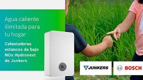 Foto de La innovación, diseño y sostenibilidad de los calentadores Hydronext protagonizan la nueva campaña de Junkers-Bosch