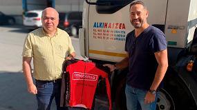 Foto de Imcoinsa, con la Vuelta Ciclista a España