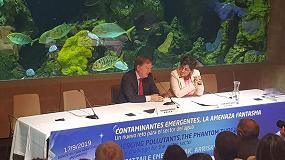 Foto de Fernando Morcillo destaca la preocupación del sector del agua urbana por los contaminantes emergentes