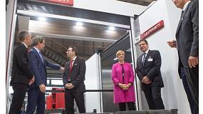 Foto de El ministro alemán de Transportes e infraestructura digital visita Juaristi en la inauguración de EMO