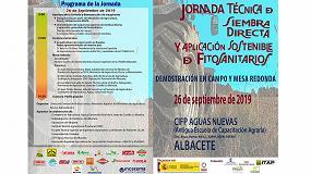 Foto de Demostración en Albacete de siembra directa, mínimo laboreo y aplicación sostenible de fitosanitarios