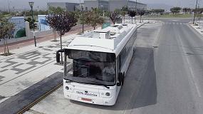 Foto de Málaga, escenario de pruebas de un sistema de recarga rápida para autobuses eléctricos a través del pavimento