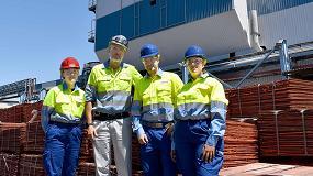 Foto de Atlantic Copper incorpora a su plantilla a 6 alumnos de FP dual y continuará la oferta formativa el próximo curso