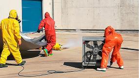 Foto de Finaliza con éxito el primer curso de emergencias con amoniaco en sistemas de refrigeración
