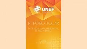 Foto de La fotovoltaica como elemento principal del modelo energético, centrará el VI Foro Solar