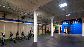 Foto de Una buena iluminación es clave para la decoración de una sala deportiva