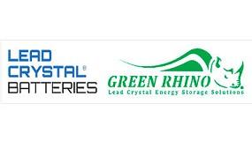 Foto de Green Rhino Lead Crystal Batteries