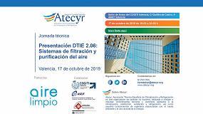 Foto de Nueva presentación de la DTIE 2.06 de Sistemas de Filtración de Aire en Valencia