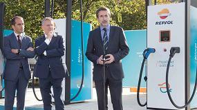 Foto de Repsol inaugura la estación de recarga para vehículo eléctrico de mayor potencia de Europa