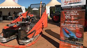 Foto de Agromelca mostró en Specialty sus equipos recolectores con plataforma de aluminio