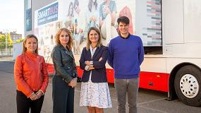 Foto de El aula móvil de Huawei España recorre las escuelas del país para fomentar la educación digital