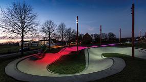 Foto de 'The Musicon Path', el proyecto de iluminación exterior ganador en los Premios Lamp 2019