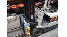 Foto de Maxtor II, eficiente solución de Dinaksa para pesaje con carretillas elevadoras