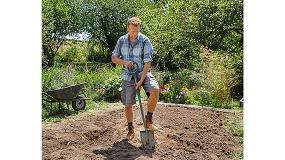 Foto de ErgoLine, la gama de herramientas especialmente diseñada para cavar