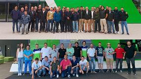 Foto de Concesionarios y clientes españoles de Deutz-Fahr visitan la fábrica de Lauingen