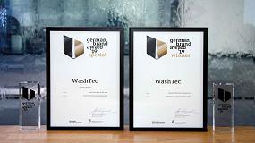 Foto de WashTec recibe el 'German Brand Award' en dos categorías