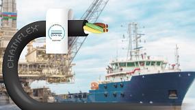Foto de Mais de 370 cabos chainflex da igus para transporte de energia e dados seguro e de elevada durabilidade em alto mar