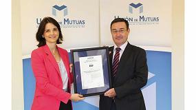 Foto de Unión de Mutuas renueva la certificación de responsabilidad social IQNET SR10 y la verificación de su memoria de RS