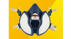 Foto de 3M presenta la media máscara reutilizable sin mantenimiento mejorada serie 4000+