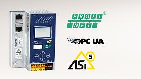 Foto de Pasarela ASi-5 y ASi-3 24V PROFINET para pequeñas aplicaciones