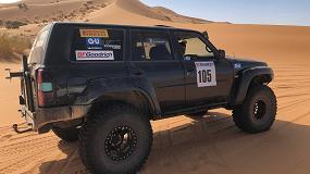 Foto de El piloto Ricardo Díez, del equipo GU – Procomsa concluye con éxito el rally solidario Marruecos Experience 2019