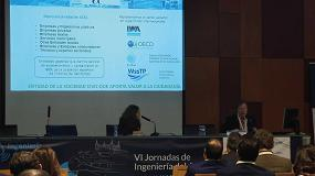 Foto de Fernando Morcillo explica las necesidades para la mejora de la innovación en el sector del agua urbana y las claves de su contribución a la economía circular