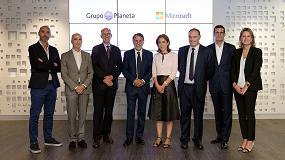 Foto de Grupo Planeta y Microsoft colaboran para integrar metodologías activas en la educación digital