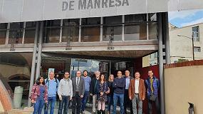 Foto de La AEI Tèxtils organiza un encuentro de socios en el Instituto Guillem Catà y en el Museo de la Técnica de Manresa