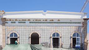 Foto de Reabilitação de edifício histórico em Tavira com ferramentas profissionais Bosch