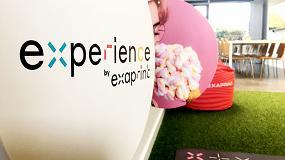 Foto de Exaprint organiza el evento Experience para que sus clientes puedan disfrutar de una experiencia basada en los 5 sentidos