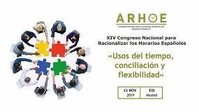 Foto de Arhoe celebra el XIV Congreso Nacional para Racionalizar los Horarios