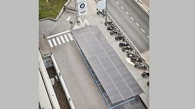Foto de BMW Group España instala una pérgola fotovoltaica que genera energía limpia para su sede en España