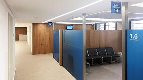 Foto de Rehabilitación del Centro Médico MIPS con techos Armstrong