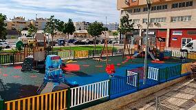 Foto de Contenur suministrará e instalará varias áreas de juegos infantiles en la ciudad de Málaga