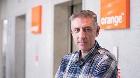 Foto de Entrevista con Luis Mª Martínez Augusto, responsable de la Oficina de productividad de Orange OSP