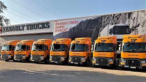 Foto de Renault Trucks entrega diez nuevos vehículos de la Gama T a Gallasegui