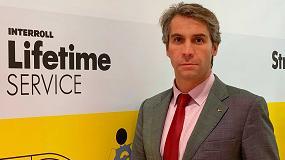 Foto de Carlos Álvarez, nuevo director general de Interroll España
