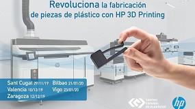 Foto de El CEP organiza un road show para dar a conocer la tecnología de HP de fabricación digital en serie