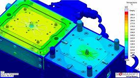 Foto de Virtual Molding ayuda a identificar la ventana de proceso para aplicaciones de 2 componentes PC+LSR