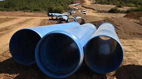 Foto de Transformación en regadío de la Zona Regable de la 'Comunidad de Regantes de las Vegas del Bajo Valdavia (Palencia)' con Tuberías de PVC-O