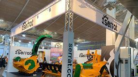 Foto de Serrat acude por primera vez a Agritechnica con sus trituradoras más potentes