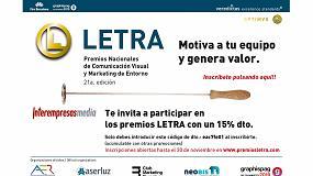Foto de Los Premios Letra presentan nuevas categorías de comunicación visual y marketing de entorno