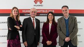 Foto de Smartbus de Huawei España recorre las escuelas de Málaga para fomentar la educación