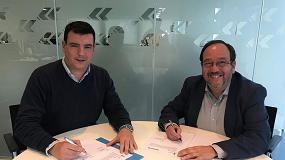 Foto de Anapat y Haulotte llegan a un acuerdo de colaboración para la impartición de la formación de Ipaf