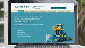 Foto de Euromaher celebra sus 20 años renovando imagen y web