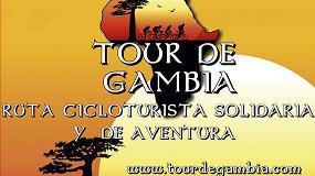 Foto de El equipo RepublikBikes, en el Tour de Gambia