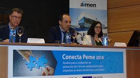 Foto de Aimen colabora con 48 pymes gallegas en el desarrollo de soluciones innovadoras para la fábrica inteligente y sostenible